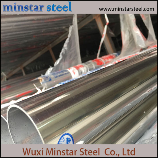 Seamless Tube 304 Polished Stainless Steel Tube with Good Quality