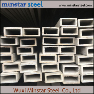 High Quality 304 304L Stainless Steel Rectangular Tube