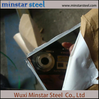 201 202 Cold Rolled Stainless Steel Plate with 2b Ba Sb Surface