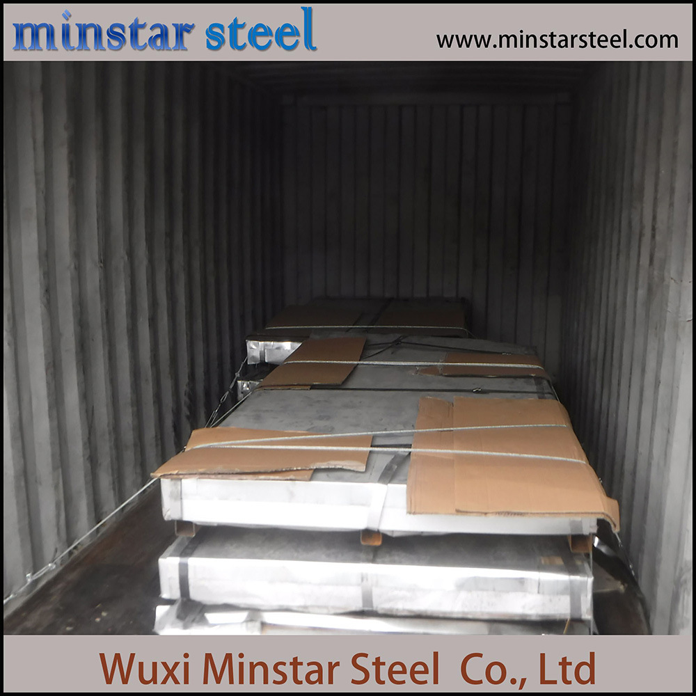 Cold Rolled 201 304 304L 310S 321 Stainless Steel Sheet