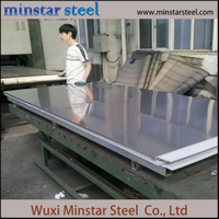 Cold Rolled Grade 201 Stainless Steel Sheet Mill Finish