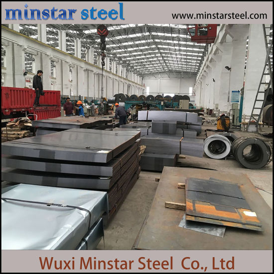 Mill Test Certificate Carbon Steel Plate Metal Iron Steel Sheet
