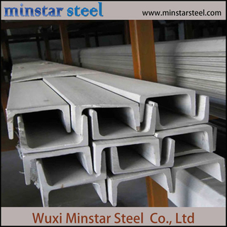 Hot Rolled High Strength 304 Stainless Steel Channel Bar U Channel