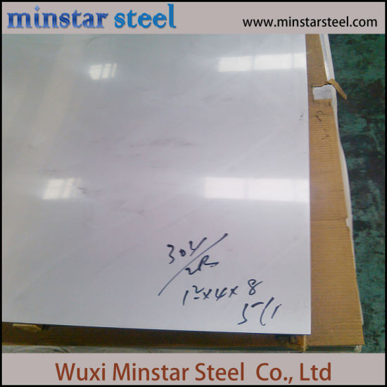 Food Grade 25 Gauge Stainless Steel Sheet 304 304L 0.53mm Thickness