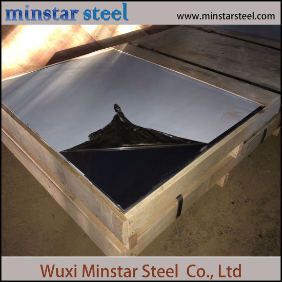 Corrosion Resistance Black Mirror Surface Stainless Steel Sheet 201 304