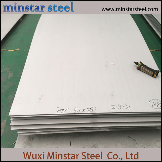 3mm 4mm 5mm Thick 1.4438 Stainless Steel Plate 309S Inox Plate from China