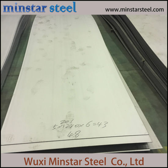 Hot Rolled 9mm Thick Stainless Steel Sheet 201 202 Grade