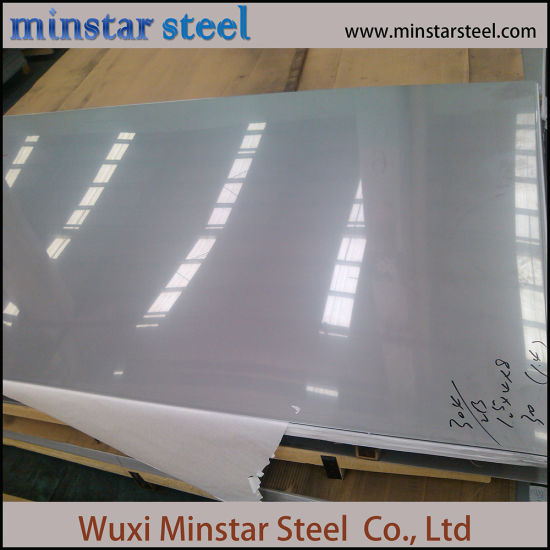 2b Ba Finish 304L Cold Rolled Stainless Steel Sheet 304 Inox Sheet