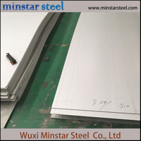 Mill Finish Hot Rolled 3mm Thick Stainless Steel Sheet SUS 321