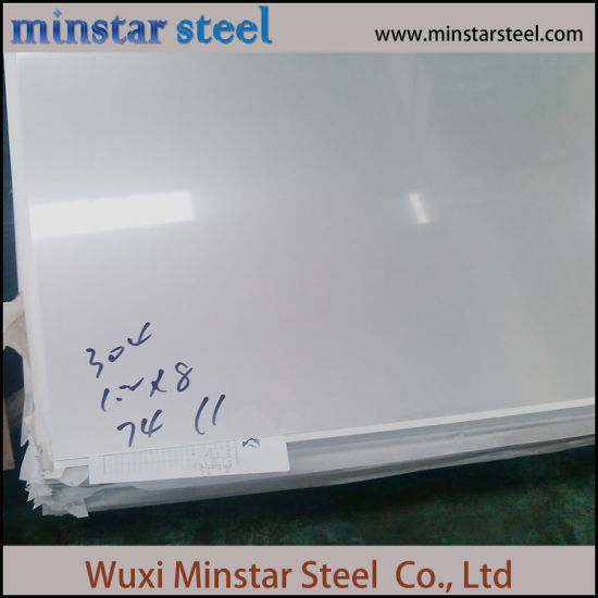 304 2b Finish 0.4mm Stainless Steel Sheet with Minmum Thickness Tolerance