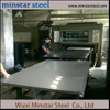 0.6mm 1.5mm Thick 4ft 5ft Width AISI 201 Stainless Steel Plate 8K Mirror Surface