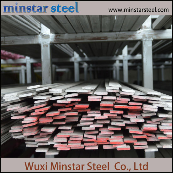 High Strength SUS304 Stainless Steel Flat Bar for Sales