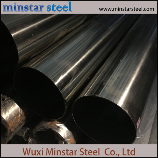 China Supplier Wlded Pipe 316 316L Stainless Steel Pipe Price List